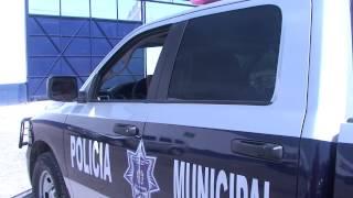 Policía Municipal, torretas, sirenas y comandos verbales