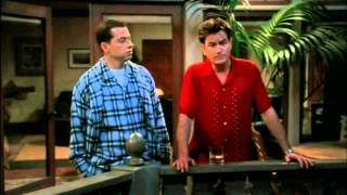 Two and a half men - I'm the king of the world