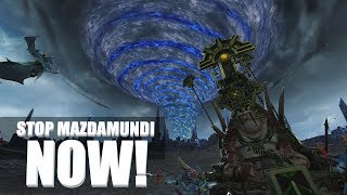 Stop the Lizardmen at the Vortex or Lose the Campaign Disaster