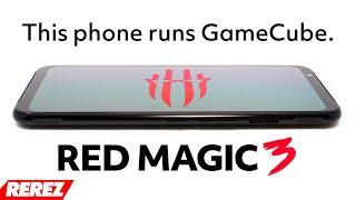 Portable GameCube Emulator - Nubia Red Magic 3 - Rerez