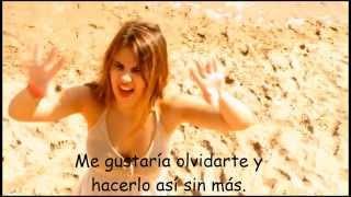 Lucía Gil - Perdí La Apuesta (letra en el vídeo oficial)
