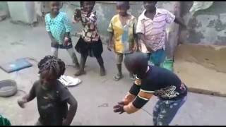 Happy kids dancing on let's go Eddy kenzo
