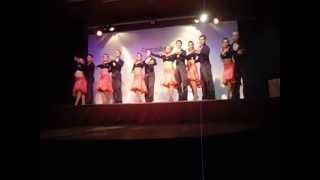 AJIACO DANCE - SALSA -  TABACO Y RON SEMINARIO 1 - 2013 - HERNAN CASTRO