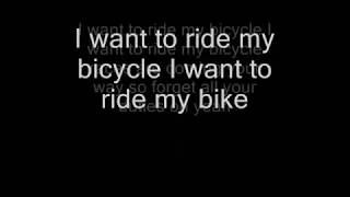 Bicycle Race (CLEAN LYRICS)