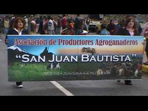 1. Desfile de San Jaun, Mocha-Ecuador