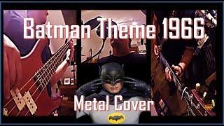 Batman Theme 1966 Metal Cover - Adam West Tribute