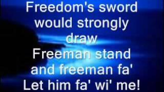 scocha - scots wha hae lyrics