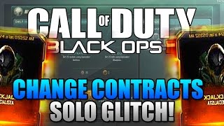 """Black Ops 3 Multiplayer Glitches - """"NEW"""" How To Change Your Daily and Weekly Contract!"""
