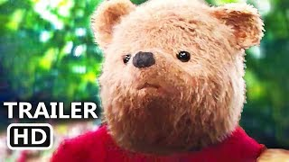 CHRISTOPHER ROBIN Official Trailer (2018) Ewan McGregor, Winnie the Pooh Disney Movie HD