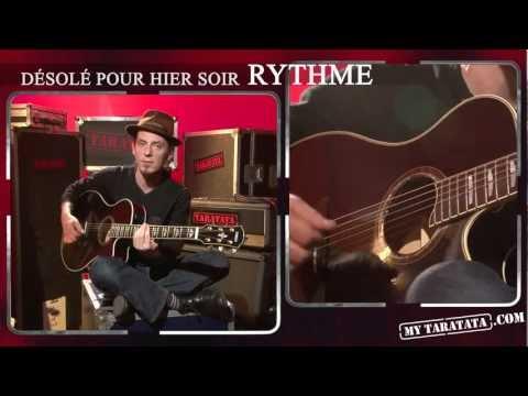 Comment jouer Désolé pour hier soir de Tryo à la guitare