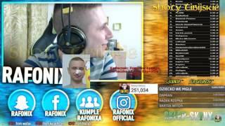Rafonix - Kinga zazdrosna na stream!