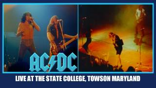 AC/DC Highway To Hell LIVE: At The State College Towson Maryland October 16, 1979 HD