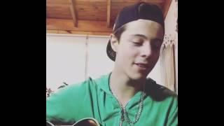 Facu Cicciu canta reggaeton lento en instagram