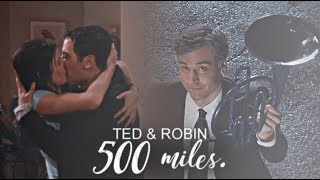 ted & robin || to fall down at your door. [HBD KATE #3]