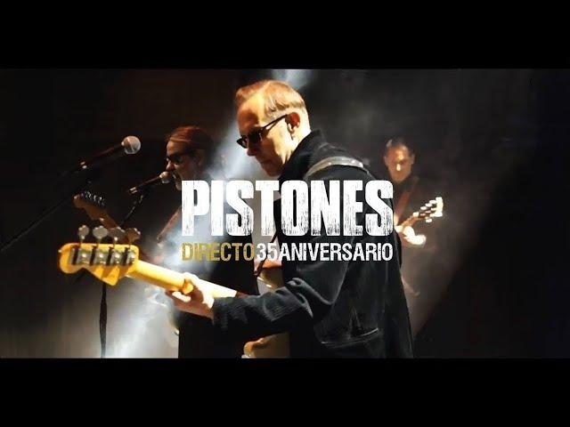"""Tema extraido de """"Directo 35Aniversario"""". Consíguelo en https://itunes.apple.com/es/album/directo-35-aniversario-live/id1177611451, también disponible en Cd y Dvd. Grabado en Joy Eslava (Madrid) el 2/4/2016.  Ricardo Chirinos: voz y guitarra, Ambite: bajo y voces, Julián Kanevsky: guitarra, Basilio Martí: teclados, José de Lucas: guitarra y voces, Marcelo Novati: batería  Video: DpfProducciones (dpfproducciones.com) Realización: David Pérez Fabián (davidperezfabian.com). Cámaras: Ion Elícegui, Marta Contreras, Elia Clementine, Chico Sánchez, Luis González y David Pérez Fabián.  Audio: Técnico de directo y grabación: Pedro Lastra, Mezclas: Juan de Dios Martín. Asistente: Edu Molina. Mastering: Juan Hidalgo  Staff: Stage Manager: Pedro Sánchez. Backliner: Guillermo Ochovo. Estilismo: Ana Martínez. Roady: Raquel García  Producción musical y artística: Manu Morales  Es una producción de Roll Music & © 2016.#Pistones #Directo35Aniversario #JoyEslava"""