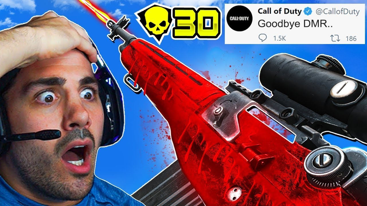 NICKMERCS - The DMR is Officially NERFED! 😦 (Cold War Warzone)