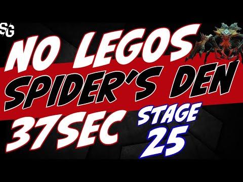 Spider stage-25 | 37sec NO LEGOS Raid Shadow Legends