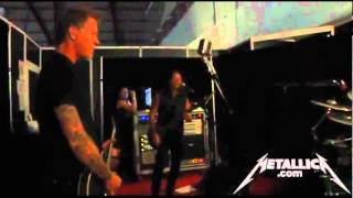 Metallica Cover Slayer In Tuning Room