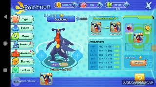 Evolving mega garchomp y ice dragon with moveset