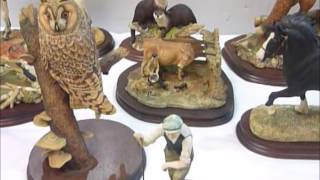 One persons collection of Border Fine Arts  being sold at auction