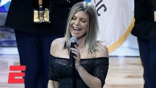 Fergie's national anthem draws criticism | ESPN