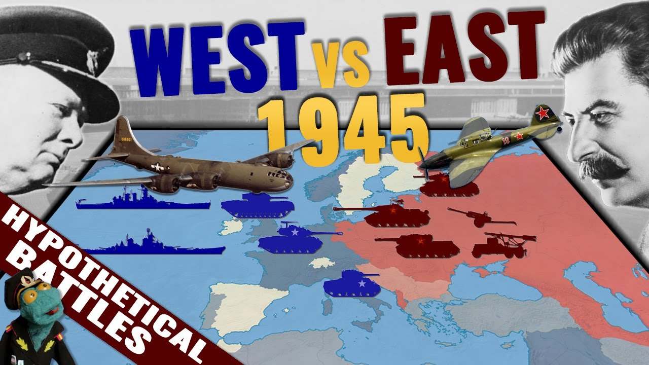What if Soviets and the West had clashed in 1945? Who'd win that Hypothetical World War 3?