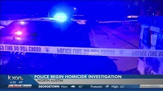 Suspect on the loose after north Austin homicide