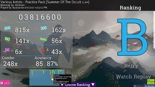 Seven Lions - Summer Of The Occult [Entering The Blight] 1.4x speed 85.87% 7.8* pass