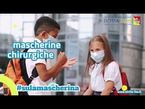Video: (VIDEO) #sulamascherina è il titolo dello spot realizzato per incentivare l'uso della mascherina tra gli studenti siciliani