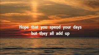 I lived - OneRepublic Lyrics