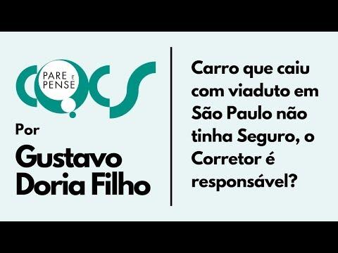 Imagem post: Carro que caiu com viaduto em São Paulo não tinha Seguro, o Corretor é responsável?