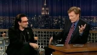 Bono (U2) Explains American vs. Irish Mentality (2005 @ Conan O'Brien)