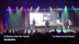JC Barrios Feat Poe Tender - Vaselina El Musical USA  - La Raina de La Fiesta