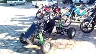 Kart cross 125 construção TDS karts