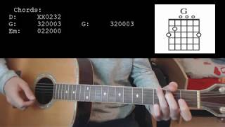 Post Malone Ft. Swae Lee - Sunflower EASY Guitar Tutorial With Chords / Lyrics