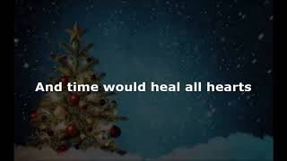 Jordan Smith - Grown Up Christmas List - with lyrics on screen.