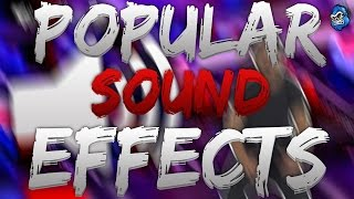 EVERY SOUND EFFECT YOUTUBERS USE | TGC