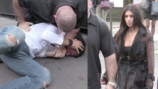 OFFICIAL VIDEO - FULL - Kim Kardashian attacked in Paris by Prankster, but there is security
