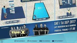 #panggungX @tipexofficial sabtu 16 sep 2017, the play ground, pangkal pinanh