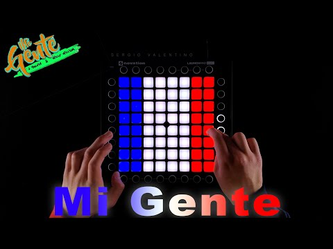 Mi Gente - J Balvin, Willy William -  LAUNCHPAD Pro Cover (Remix)