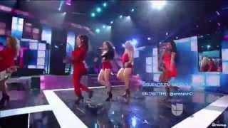 """Fifth Harmony - """"Worth It/Dame Esta Noche"""" at Premios Juventud 2015"""