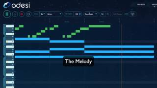 Odesi tutorial - Iio feat. Nadia Ali - Rapture (Chords, Melody, Bassline)
