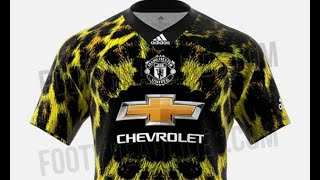 Manchester United to release bizarre leopard-print kit for team to wear in FIFA 19