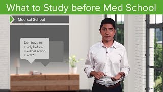 What to study before Med School – Medical School Survival Guide | Lecturio width=