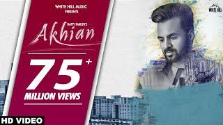 New Punjabi Sad Song 2018 | AKHIAN (Official Video) Happy Raikoti  ft. Navpreet Banga | GoldBoy width=
