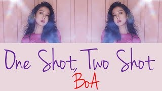 BoA - One Shot, Two Shot [Hang, Rom & Eng Lyrics]