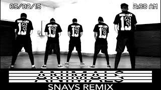13.13 Crew | Animals - Snavs Remix (Choreography)