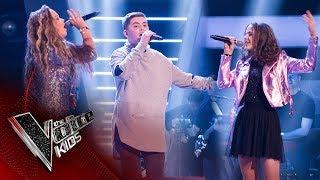 Nathan, Millianna, Jessica R - 'Runnin' (Lose It All)': Battles | The Voice Kids UK 2017