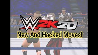 WWE 2K20 PSP: All New and Hacked Moves