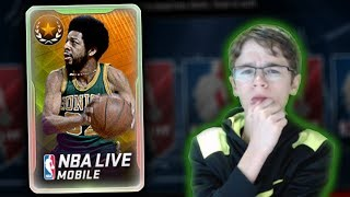NBA Live Mobile - FRED BROWN LEGEND PACK OPENING!!! TRYING TO GET A LIMITED TIME PULL!!